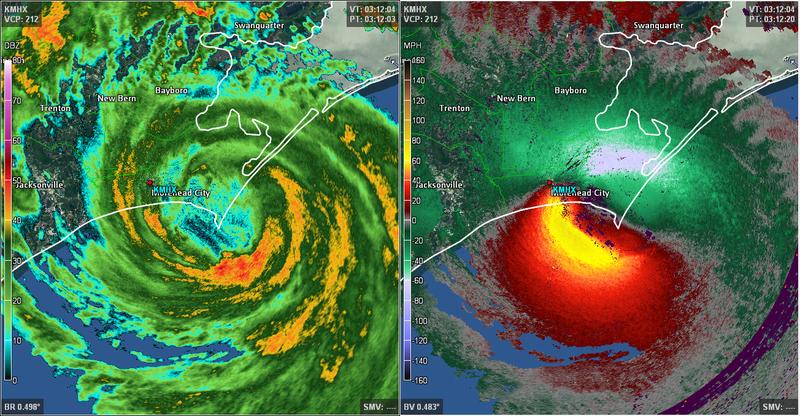 Hurricane Arthur Makes Landfall in North Carolina With 100 MPH Winds