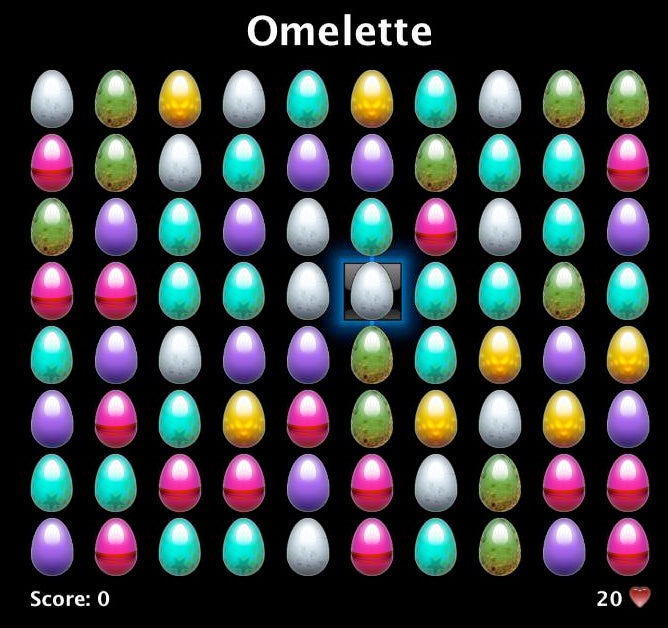Omelette 1.0 is First Free Apple TV Game, But There's a Catch