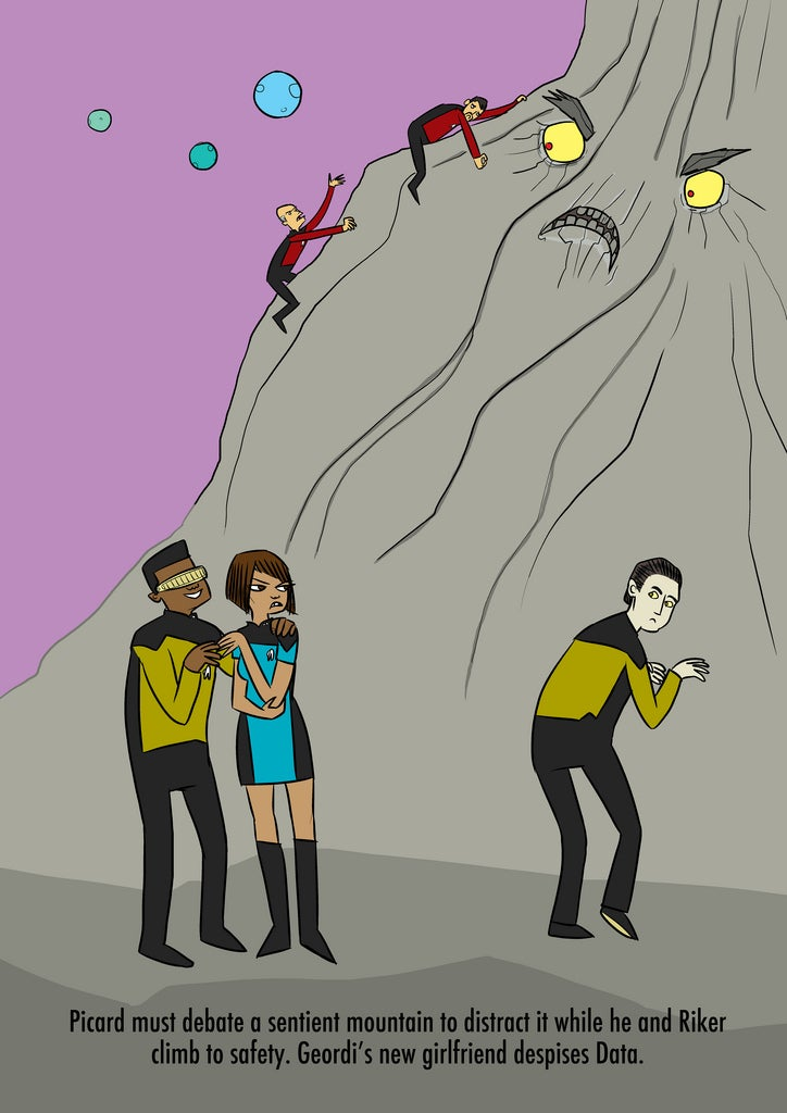 Star Trek: TNG Season 8 illustration has us longing for more