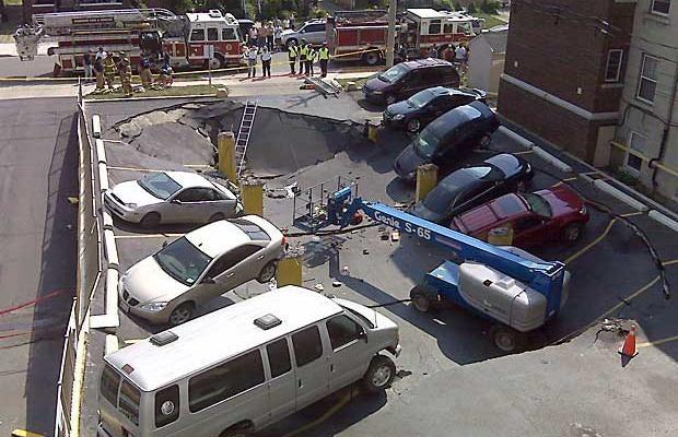 Underground Parking Garage FAIL!
