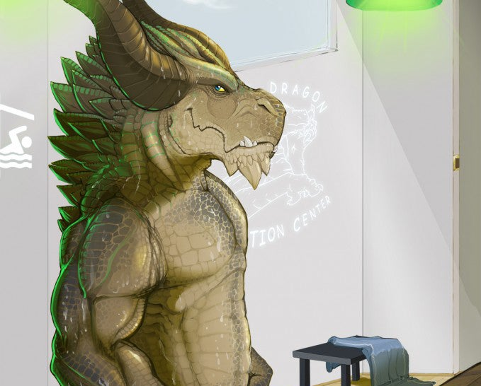 Here's the Giant Dragon Dildo You've Been Writing Erotic Fan-Fic About