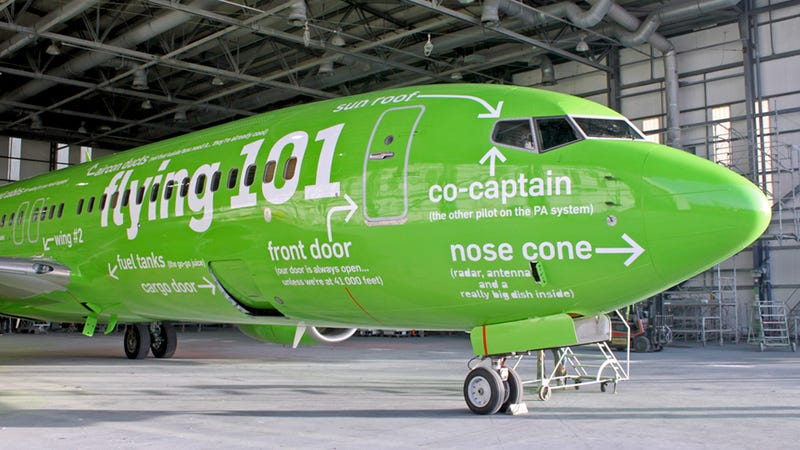 The Ten Coolest Commercial Jet Paint Jobs