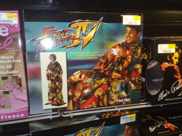 The Street Fighter IV Snuggie Is Actually Real