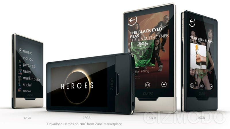 Zune HD to Cost Between $249 and $280 in September?