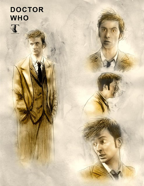 Ben Templesmith Does Doctor Who