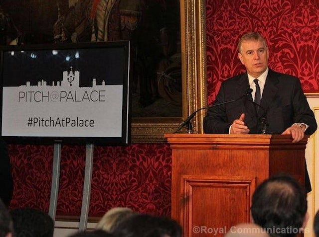 The Duke of York Commissioned a Startup Contest Called Pitch@Palace