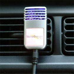 NanoBreeze Brings Ionic Air Purifying To The Car