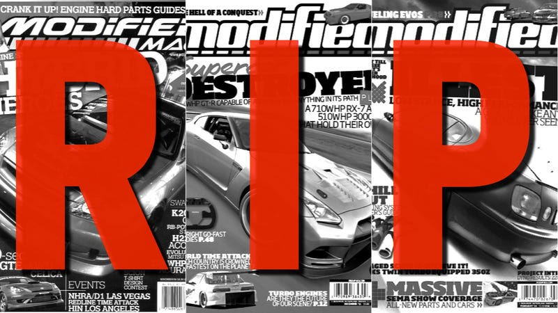 Modified Magazine Killed As Source Interlink Rumored To Lay Off Dozens
