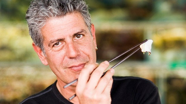 Anthony Bourdain on Finding Great Food Traveling: Get Genuine Advice