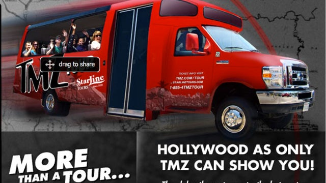 A Ride On The TMZ Hollywood Bus Tour