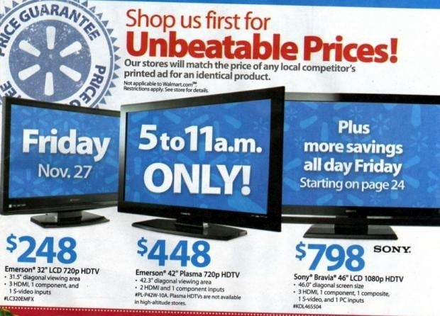 Walmart Black Friday Ad Leaks With $78 Blu-ray Player