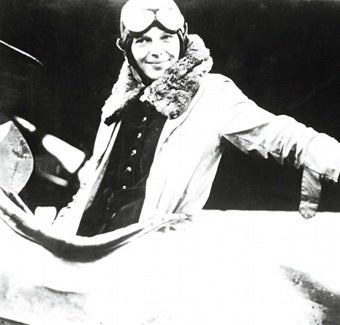 Amelia Earhart Flew. She Wasn't An Angel.