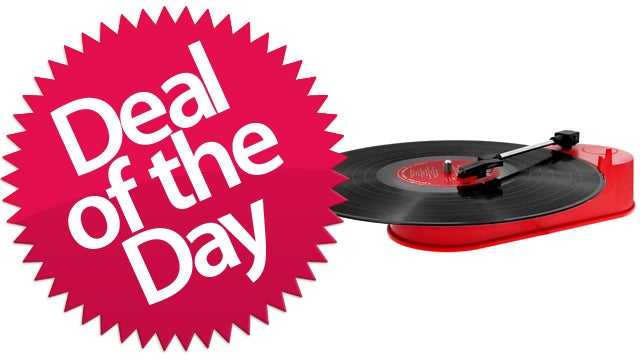 This Mini Portable USB Turntable Is Your Preservationist Deal of the Day