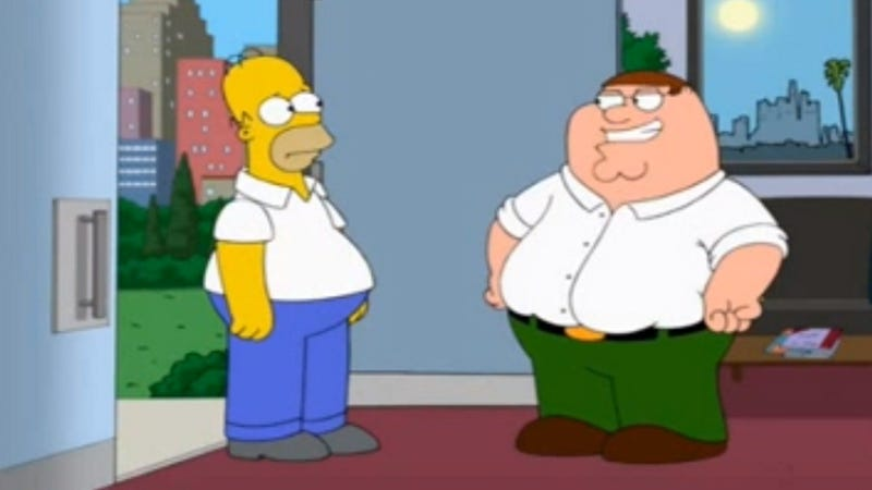 Family Guy-Simpsons Crossover Episode Planned for Next Year