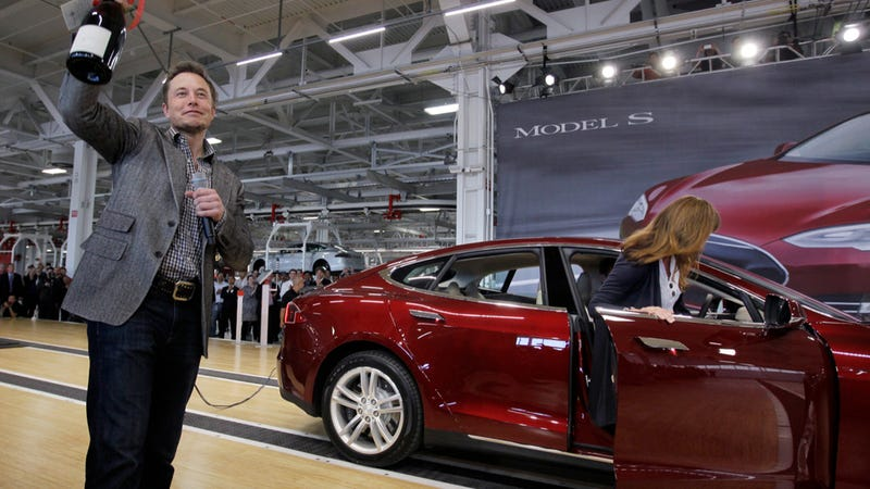 Startup Las Vegas Car Share Service Orders 100 Tesla Model S EVs