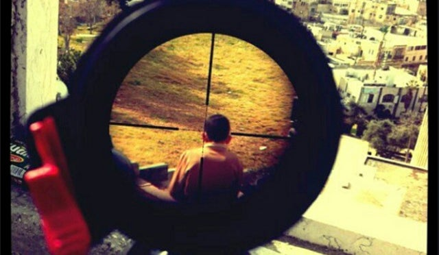 Outrage Over Israeli Soldier's Instagram Photo of a Palestinian Child in Sniper Rifle Crosshairs
