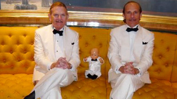 Eccentric Gay Gadabouts Think Toy Doll Is Their Son