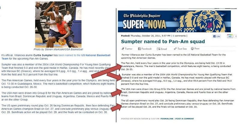 Lazy Hack Philly Newspaper Writer Being Investigated For Doing Cut-And-Paste Job On Blogger's Report