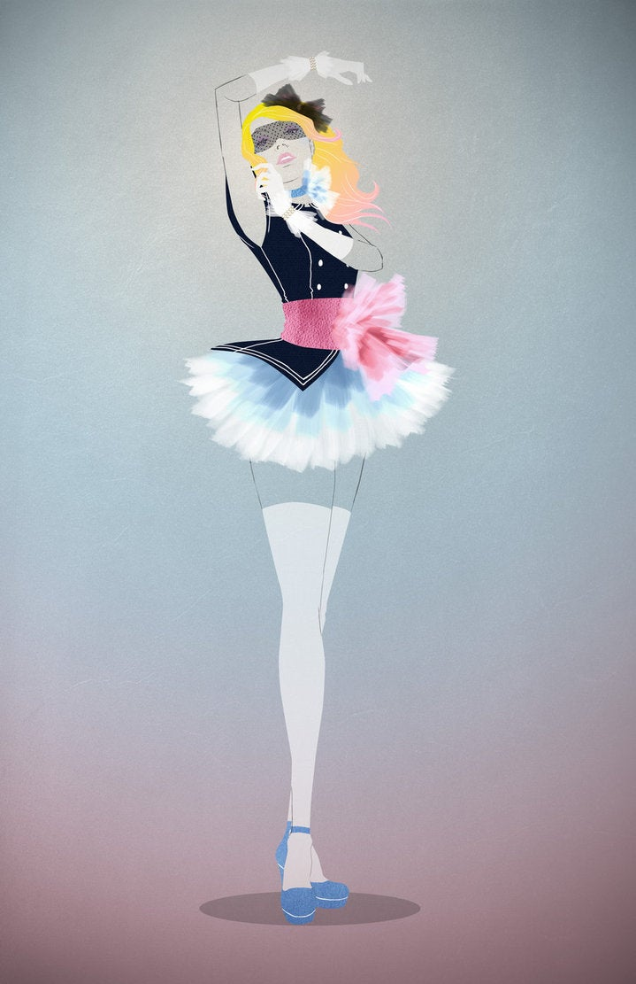 Illustrations give Sailor Moon a high-fashion makeover