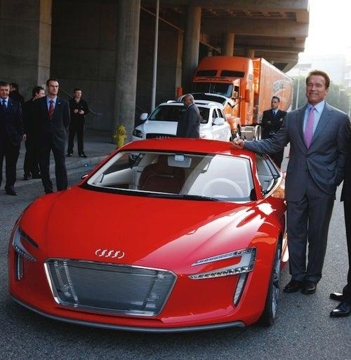 Audi e-Tron Concept: Driven