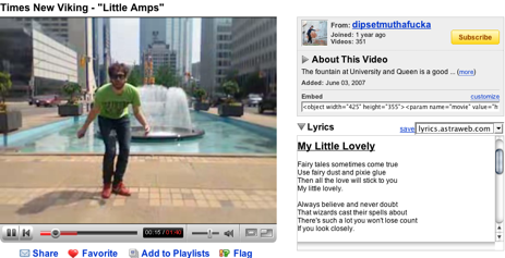 Add Lyrics to Music Videos on YouTube