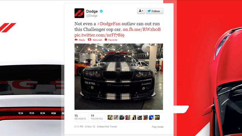 Dodge Can't Tell The Difference Between Its Own Car And A BMW