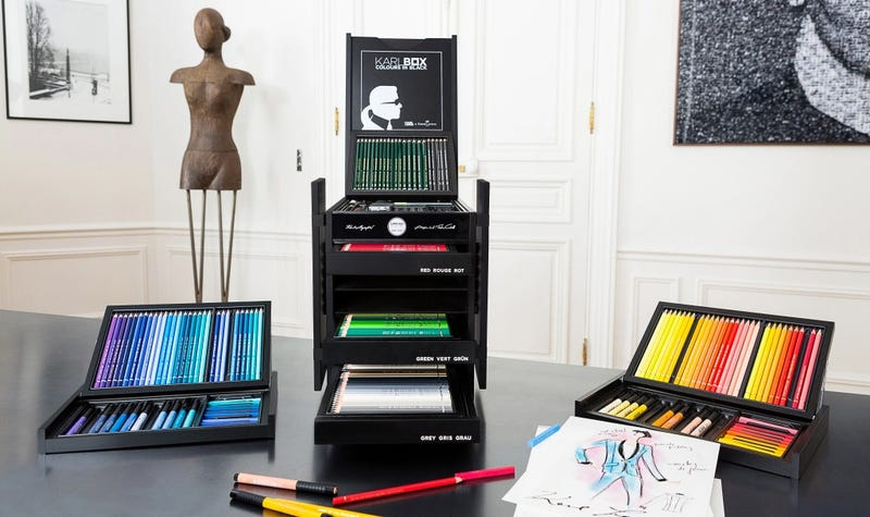 This Is What a $3,000 Box of Colored Pencils Looks Like