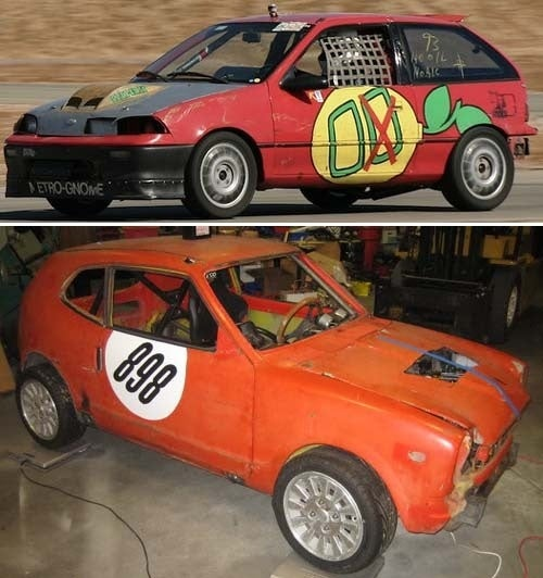 Inside Those Crazy Motorcycle-Engined LeMons Racers