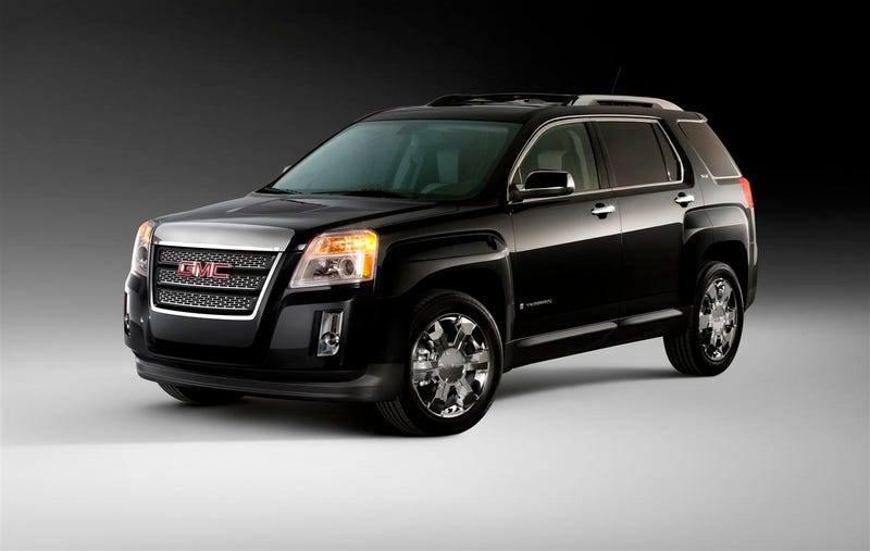 2010 GMC Terrain Pricing Starts At $24,995
