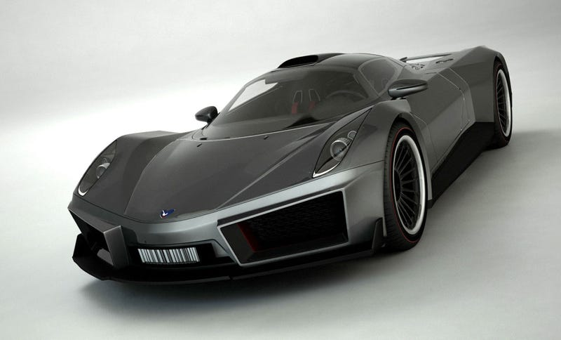 Russian Designer Creates Futuristic Muska Super Car