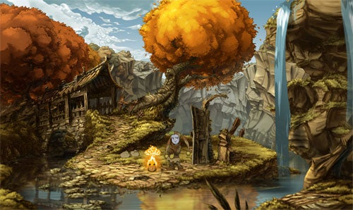 The Whispered World Launches Relaxing Website