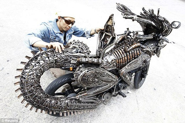 Alien Bike Creeps the Shriveled Testes Out of Me