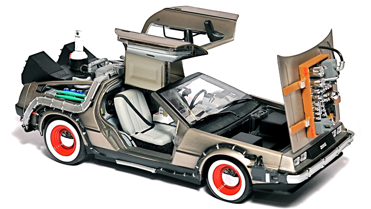 This Delorean Backs Up Your Computer at 88 MPH