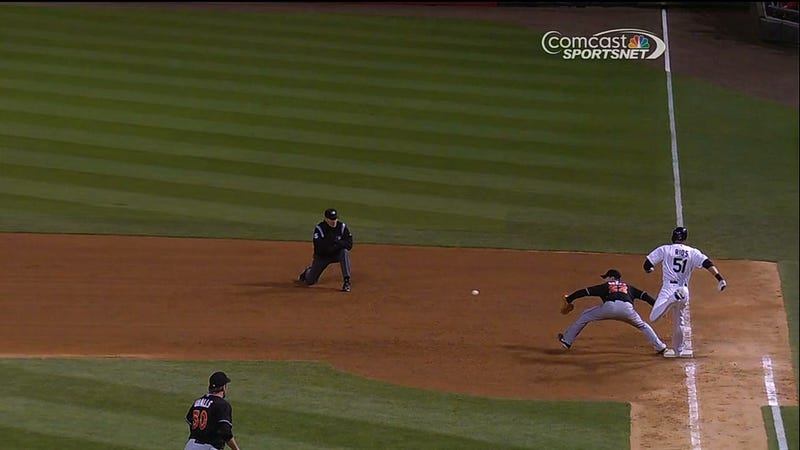 Hawk Completely Melts Down About This Blown Double Play Call