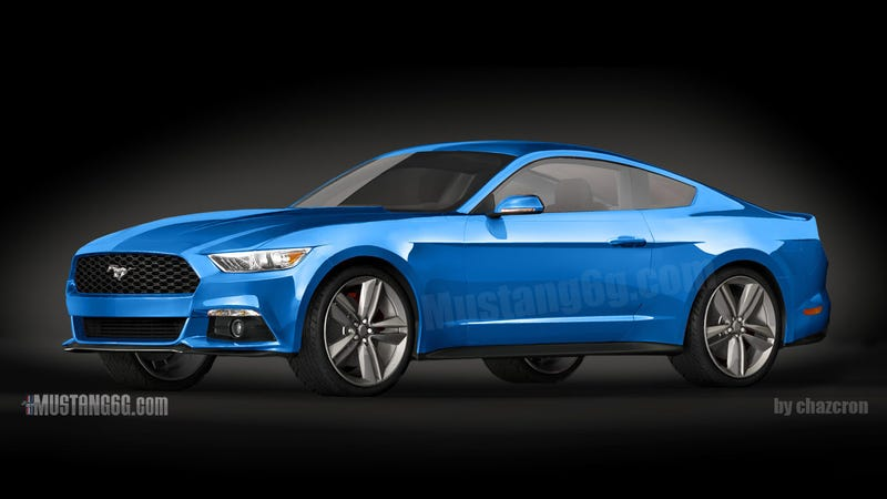 This Is The Best Rendering Of The 2015 Ford Mustang Yet