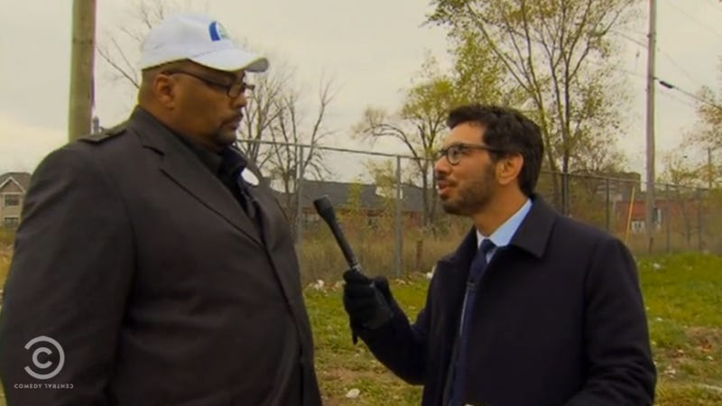 The Daily Show Tackles The Insanity That Is Detroit Politics