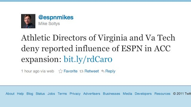 ESPN Is Now Trotting Out Anyone It Can To Tell You It Had Nothing To Do With Boning The Big East