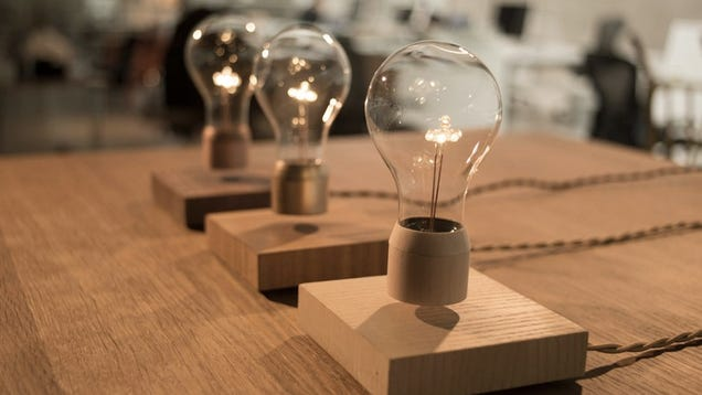 It's No Hoverboard, But This Levitating Light Bulb Is Still a Neat Trick