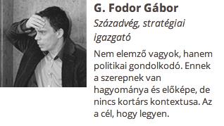 G. Fodor Gábor azért akarja, hogy Krasznahorkai öngyilkos legyen, hogy ő lépjen a helyére?