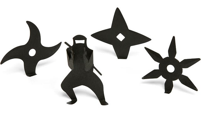 Shuriken Sticky Notes Make For Stealthy Office Reminders
