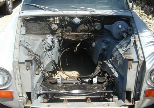 Chevy V8-Powered 1970 Jaguar XJ6 Prepares For The 2010 24 Hours Of LeMons Season