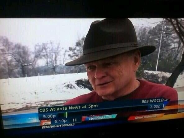 For More on How Atlanta's Handling the Storm, Here's Freddy Krueger
