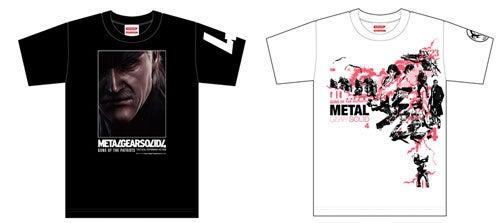 More Fancy Metal Gear Solid 4 Tees