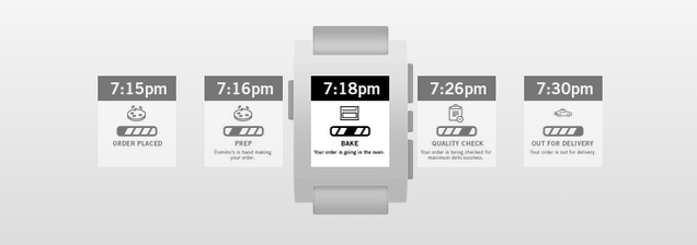Of Course You Can Track Domino's Pizza On Your Smartwatch Now