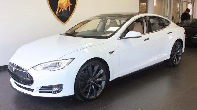 Someone Bought A Tesla Model S With Bitcoin