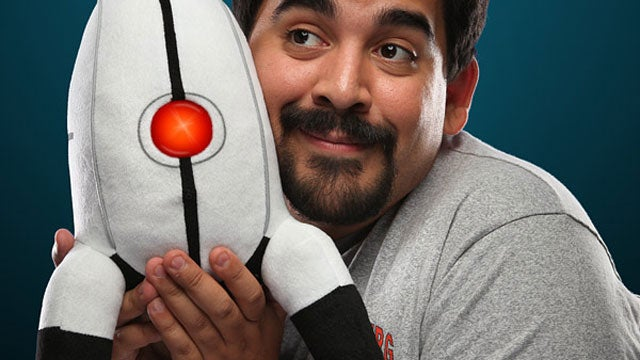 An Official Portal Turret Replica (That you can Snuggle With!)