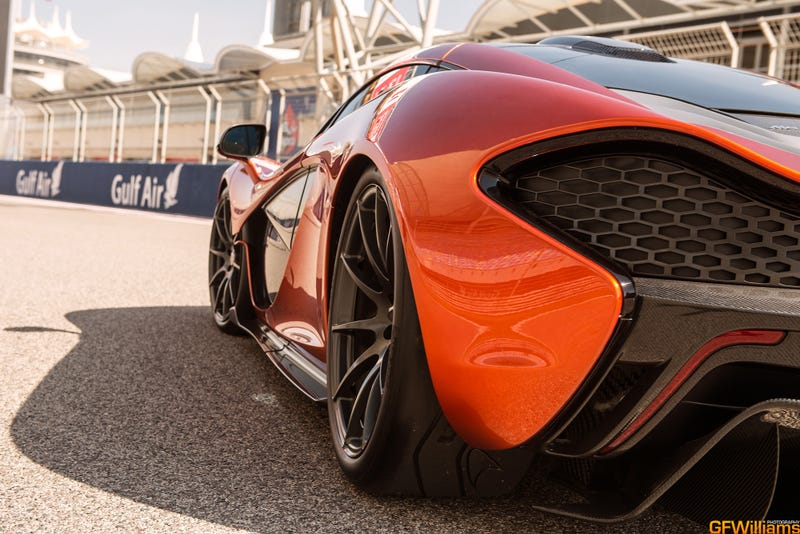I've Photographed The McLaren P1