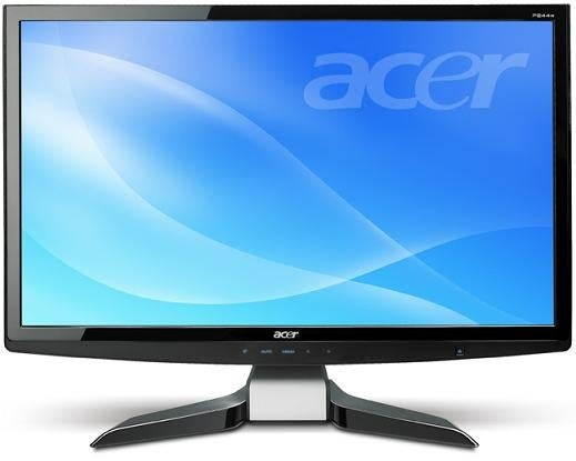 Acer Releases AX3200 Blu-Ray Desktop PC and P244W 1080p LCD Display