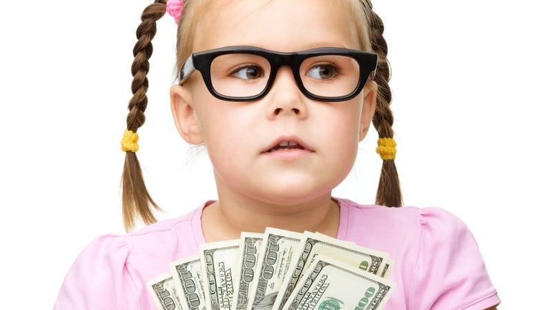 Study: Little Boys More Likely to Get an Allowance Than Little Girls