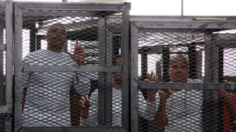 Egyptian President Won't Pardon Jailed Al Jazeera Journalists